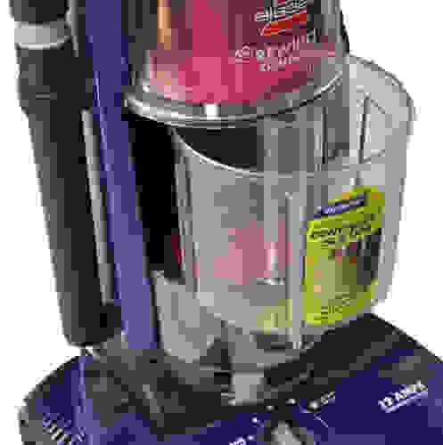 Bagless vacuum dirt receptacle