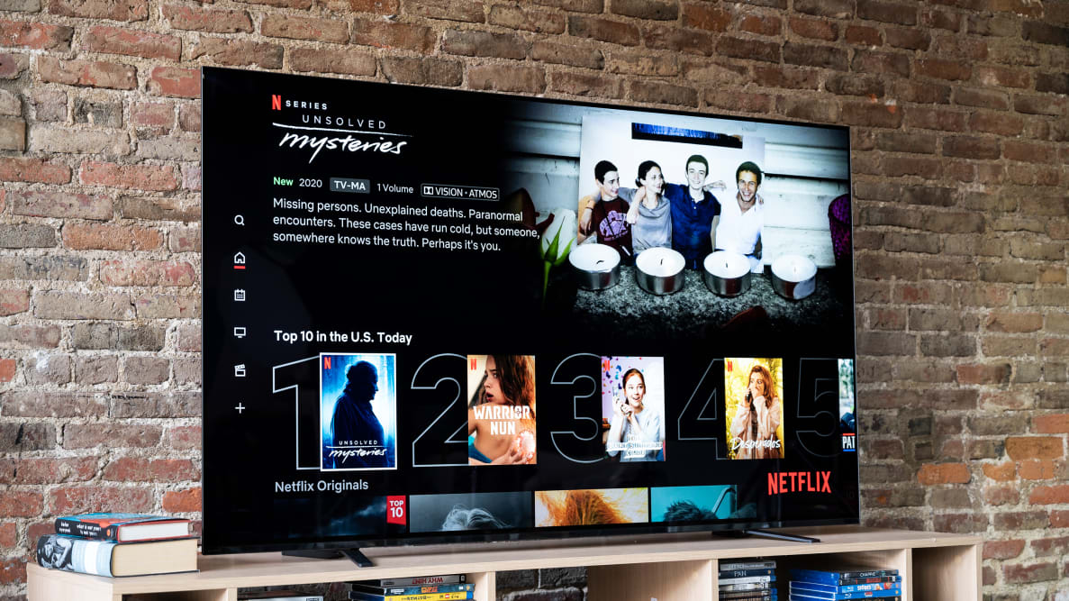 The 65-inch Sony A8H OLED TV