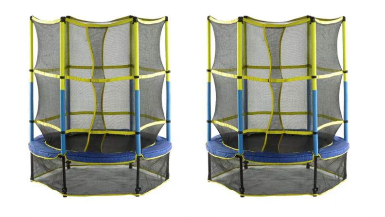 upper bounce trampoline