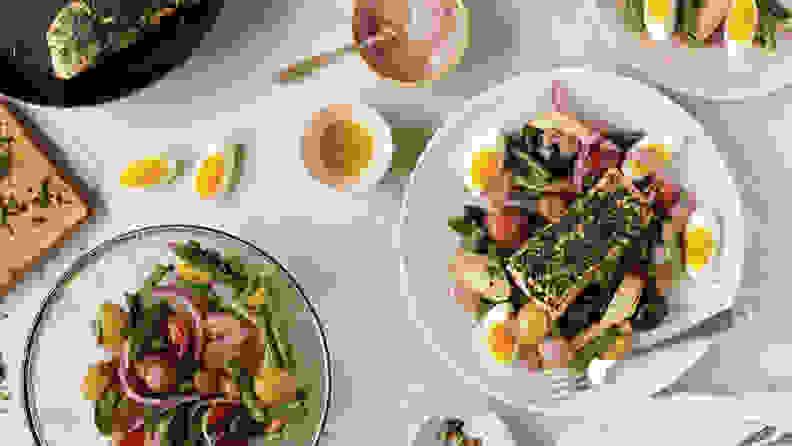 Amazon Meal Kit Salmon Dinner