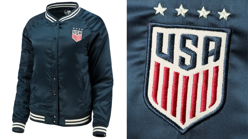 Team USA satin jacket