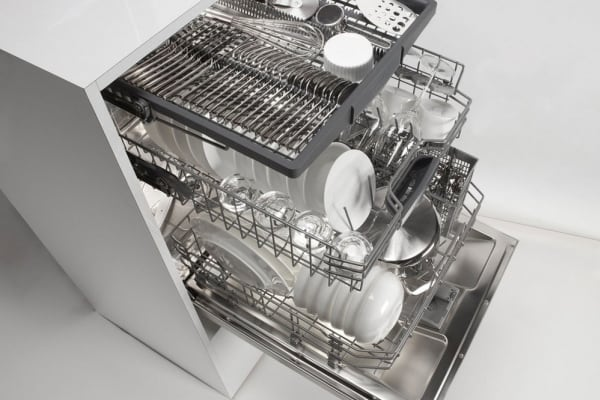 Depending on the model you choose, an 800-series dishwasher can fit between 15 and 16 place settings.