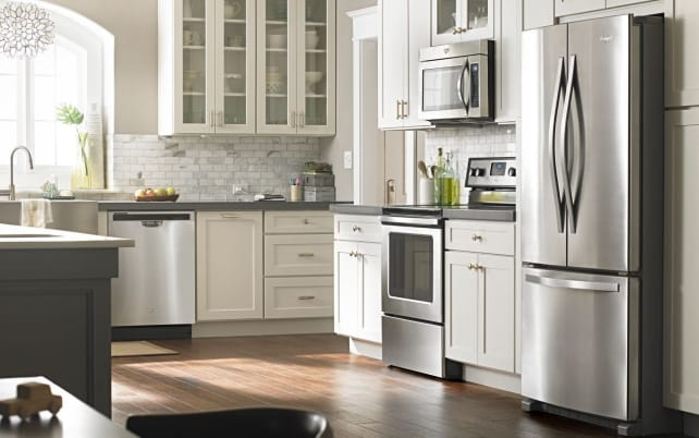 Stainless And Stylish U2014 Whirlpool Suite At Home Depot For $2,202