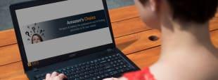 Amazons choice laptop hero