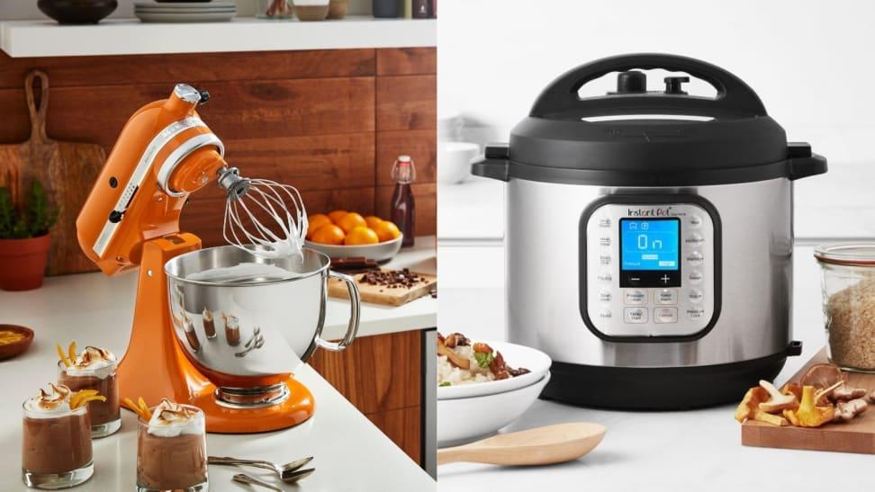 KitchenAid mixer and Instant Pot