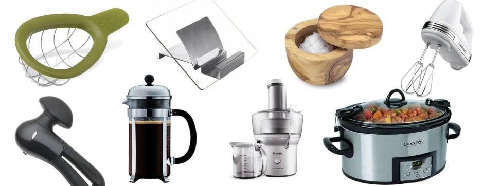 An assortment of cooking gadgets.