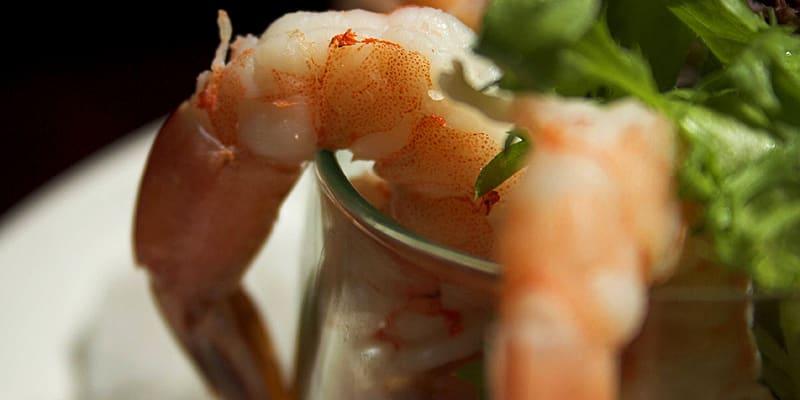 Shrimp Cocktail Closeup