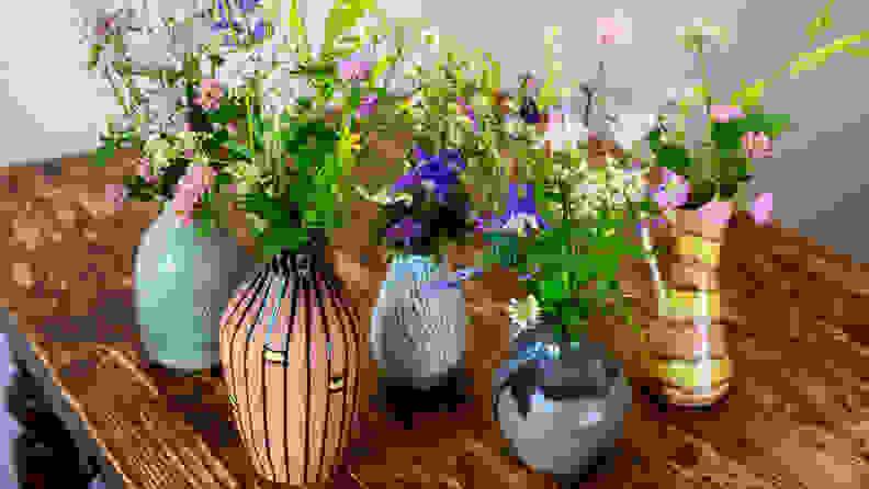 A fancy vase won't make your flowers last any longer.
