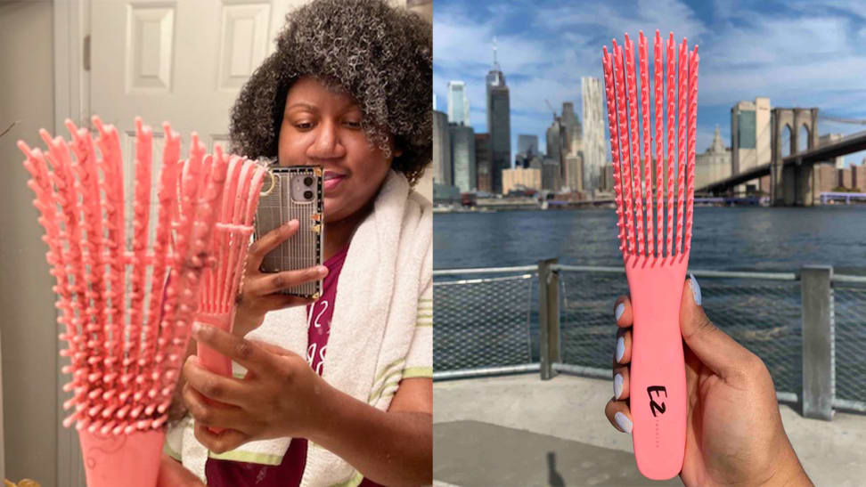 The EZ Detangler Brush.