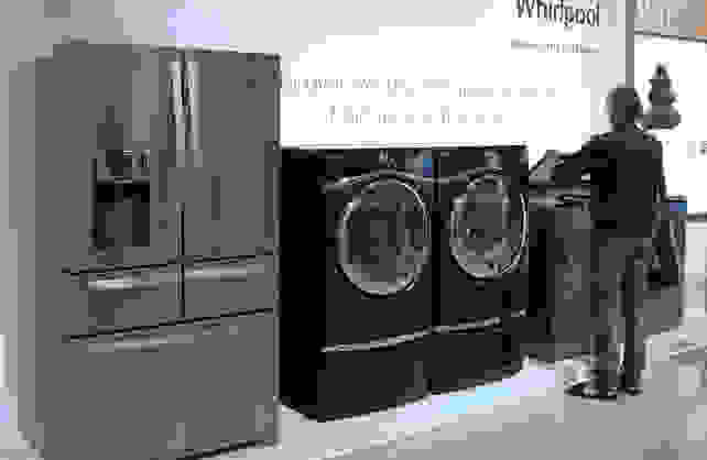 American Whirlpool Appliances in Europe