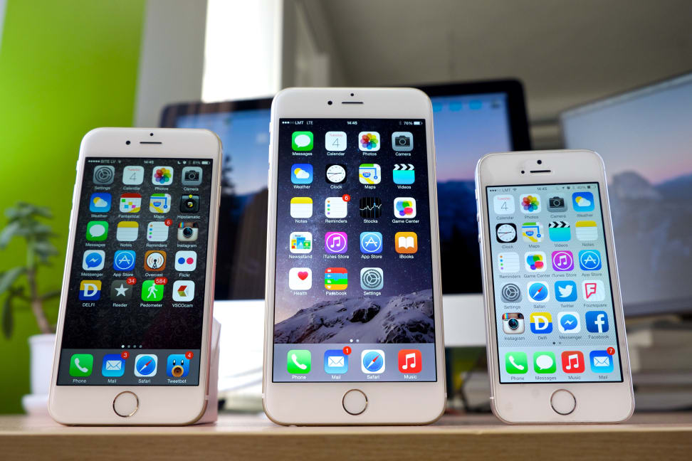 Three iPhones