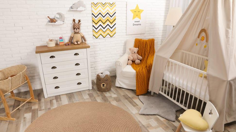 Gender neutral nursery room