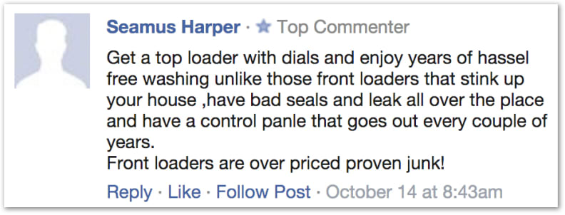 """""""Front loaders are over priced proven junk!"""""""