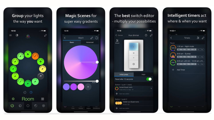 6 apps you can use with Philips Hue smart light bulbs - Reviewed