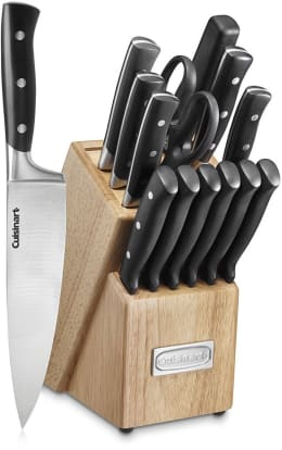 Product Image - Cuisinart C77TR-15P Triple Rivet Collection 15-Piece Knife Block Set