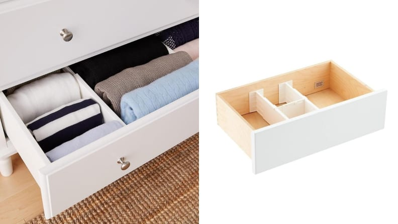 Container Store drawer dividers