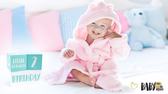 Baby Milestone Photo Blocks