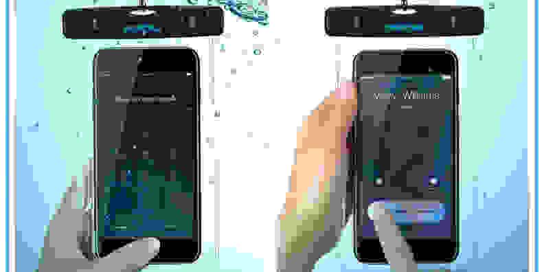 MPow Underwater Smartphone Pouch