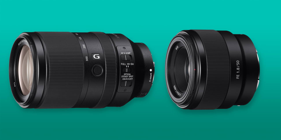 Sony announced two new full frame lenses