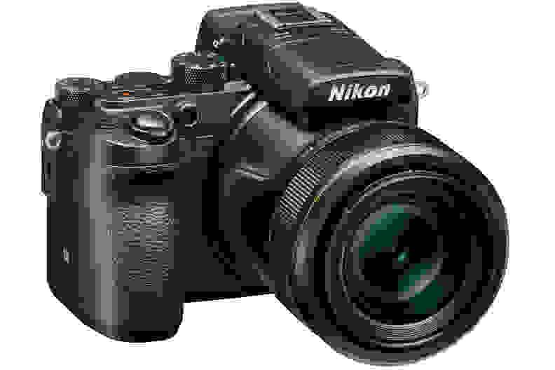 A manufacturer render of the Nikon DL24-500.