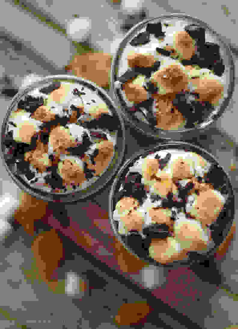 S'mores dessert trifle