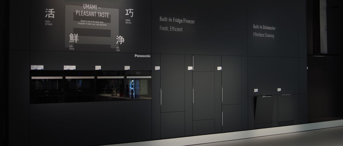 New Panasonic Appliances Combine Japanese and European