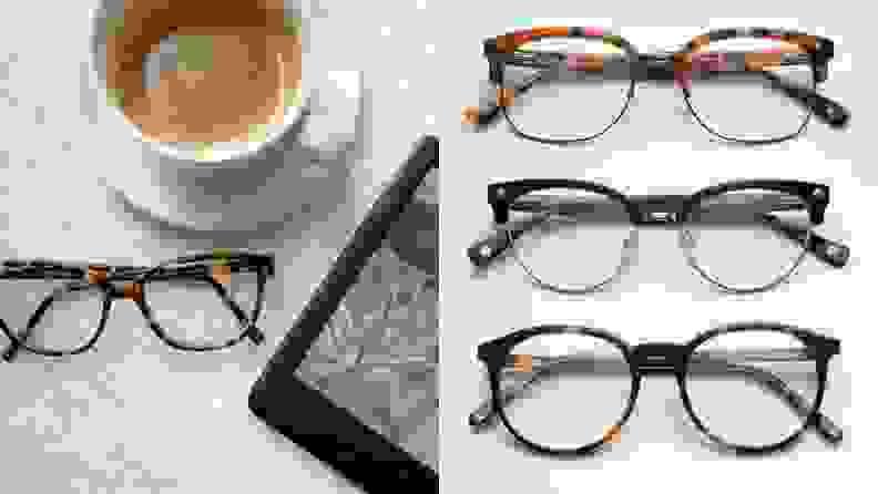 Glasses USA low nose bridge