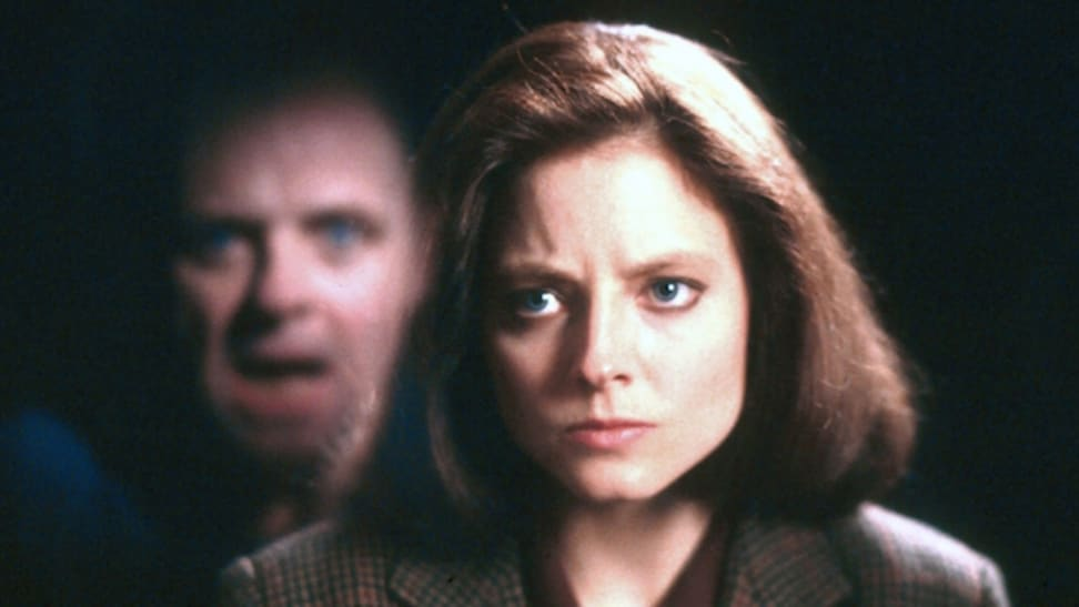 "Jodie Foster and Anthony Hopkins, as seen in ""The Silence of the Lambs"" (1991), one of the best thrillers streaming now."