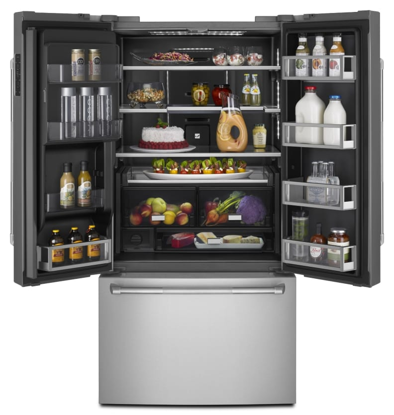 Jenn-Air Connected Obsidian Fridge
