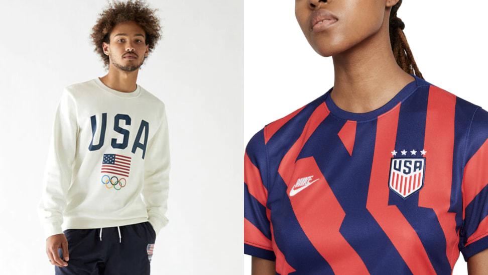 Olympics fan apparel and fashion