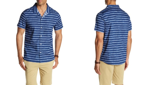 Threads 4 Thought Brandon Beach Button Regular Fit Shirt