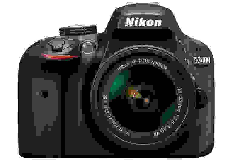 Nikon D3400 Front View