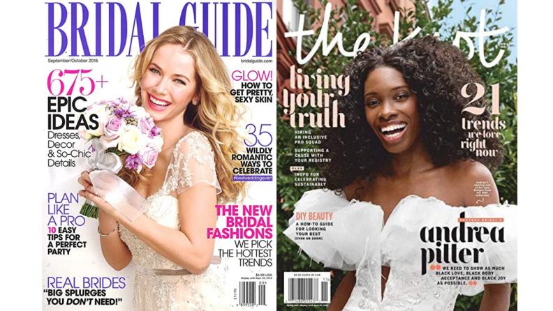 Best engagement gifts: Wedding magazines