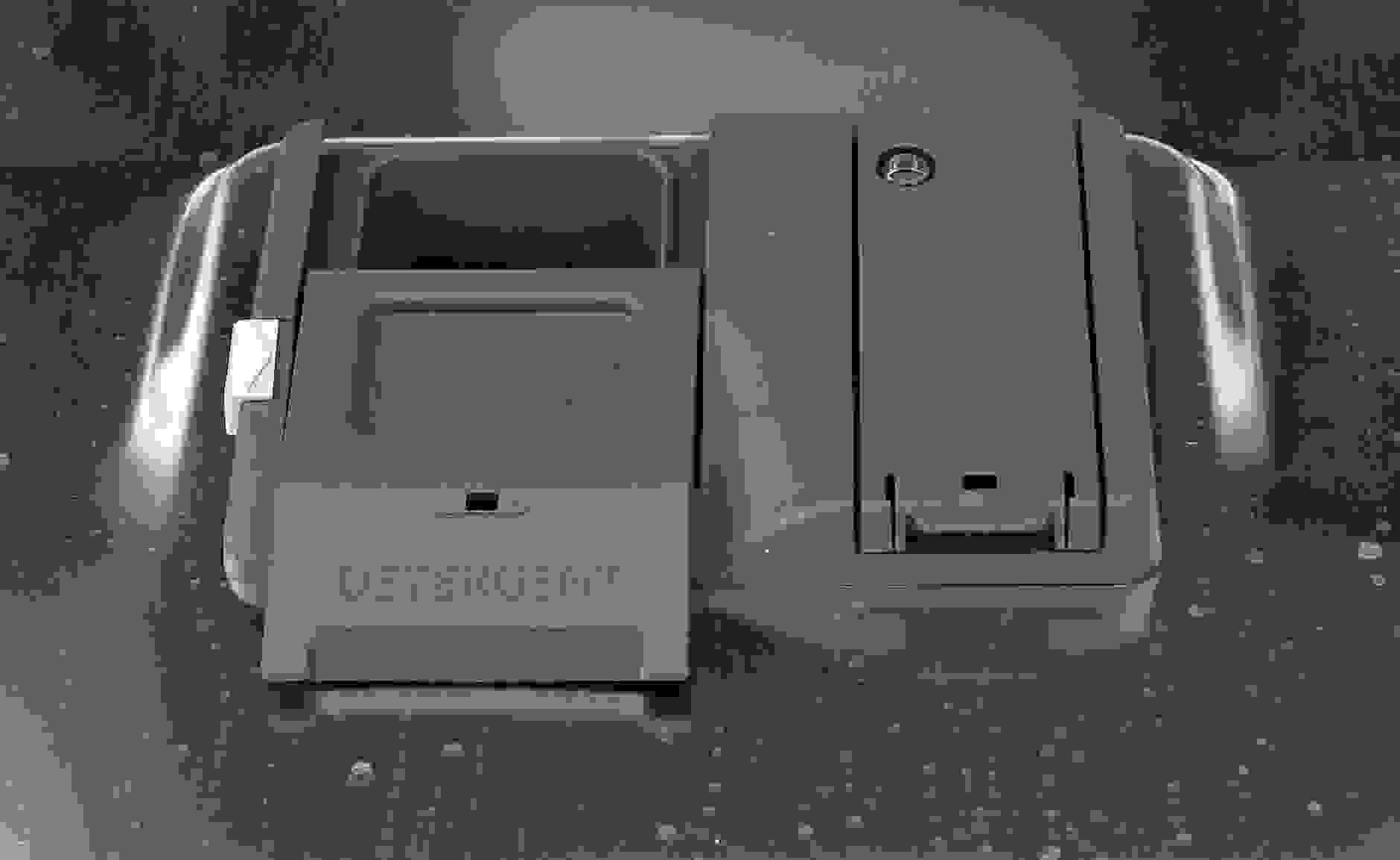 GE Monogram ZDT870SSFSS's detergent and rinse aid dispenser
