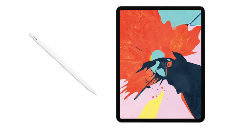 Apple Pencil 2 with iPad Pro