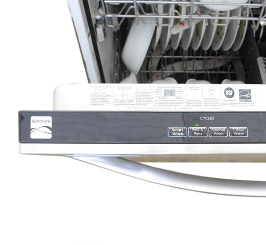 Kenmore 13273 24 In Built In Stainless Steel Dishwasher
