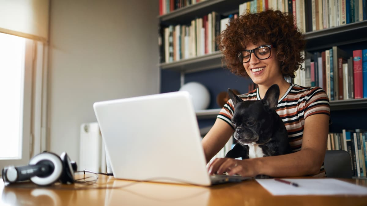 Working from home in the age of COVID - cover