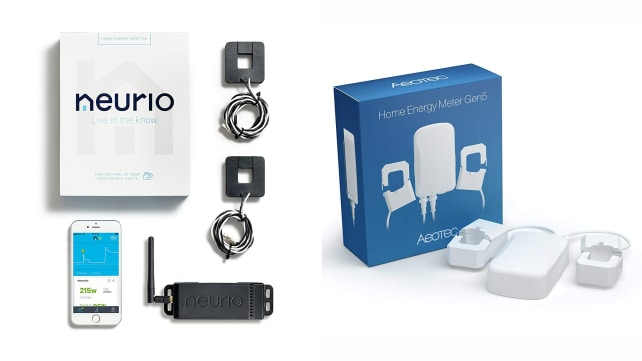 Neurio and Aeotec Home Energy Monitors