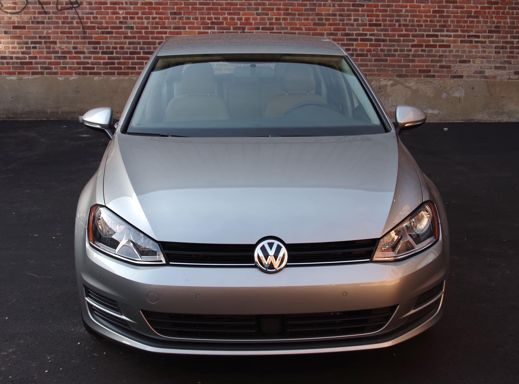 2015 VW Golf front