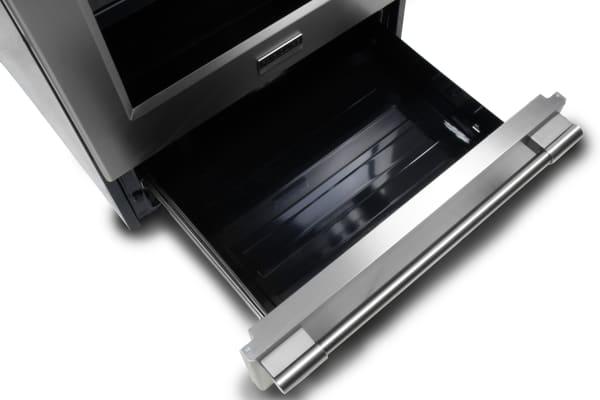 open storage drawer