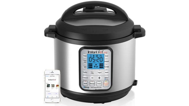 Instant Pot Bluetooth Pressure Cooker