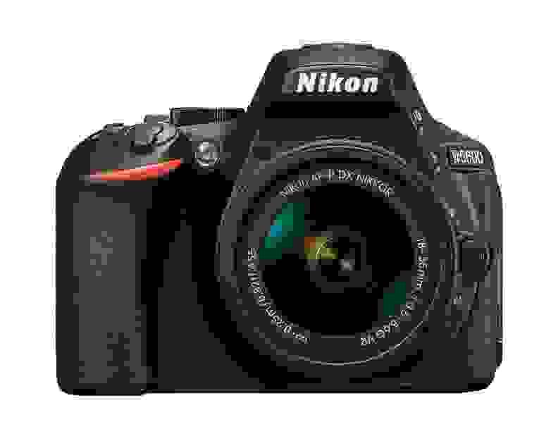 Nikon D5600 Front View