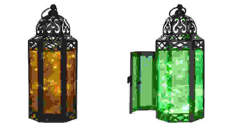 Vela Lanterns Glass Moroccan Style Lantern