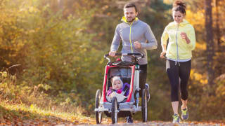 How to exercise with your stroller - new parents