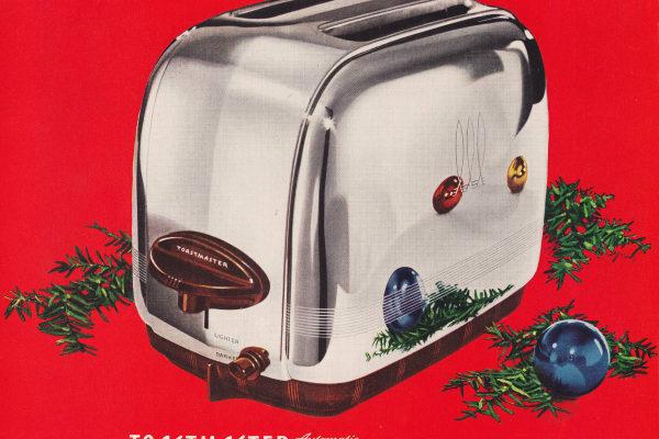 1946 Toastmaster toaster Christmas ad