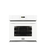 Frigidaire gallery fgew2765pw 27 inch single electric wall oven