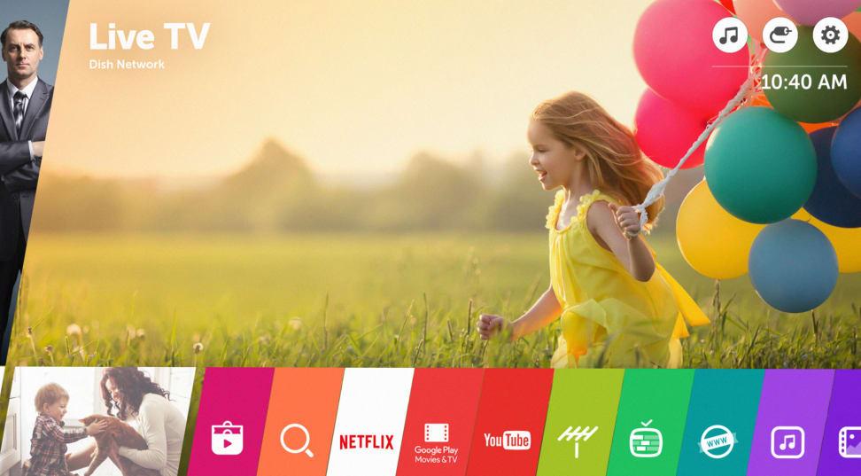 LG webOS 3.0