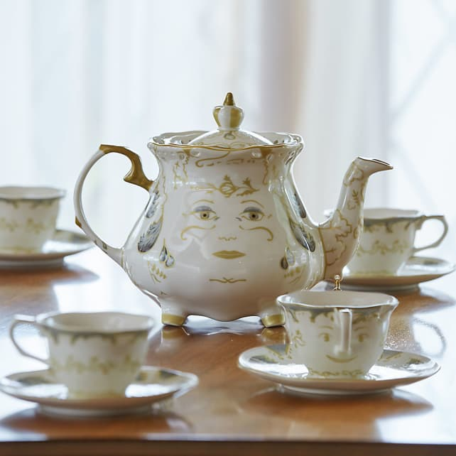 Beauty and the Beast Limited Edition Fine China Tea Set