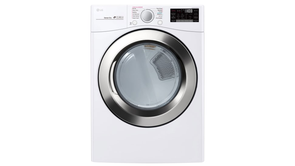 The LG DLEX3700W dryer