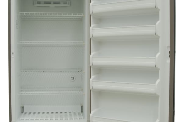 Plenty of internal storage is available inside the Frigidaire FFUF2PT, though you can't adjust any of it.